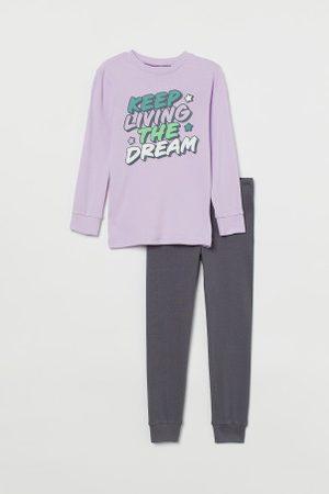 H&M Criança Pijamas - Pijama em jersey