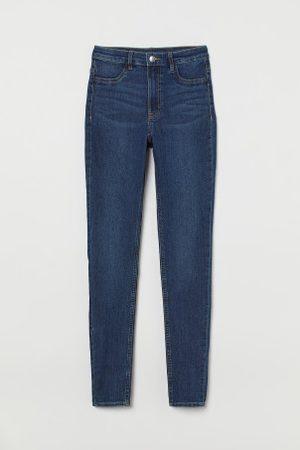 H&M Senhora Skinny - Super Skinny High Jeans