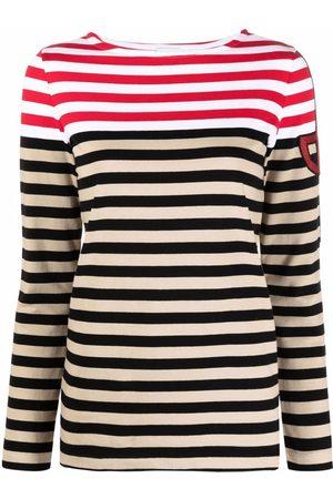 Patou Senhora Sweatshirts de Manga larga - Stripe print longsleeved T-shirt