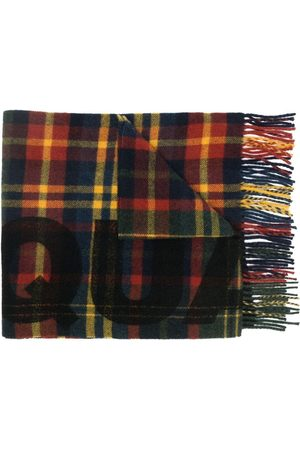 Dsquared2 Checked virgin wool scarf