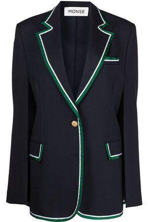 MONSE Senhora Blazers - Prep School cape blazer