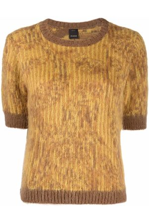 Pinko Two-tone knitted top