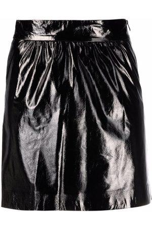 Pinko Senhora Mini-saias - High-shine mini skirt