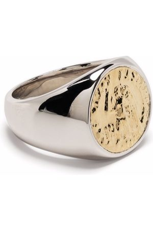 TOM WOOD Coin signet ring