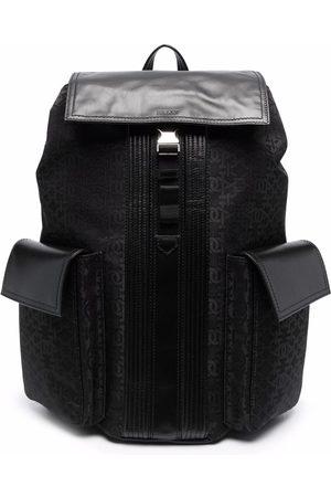 Bally Baner monogram-print backpack