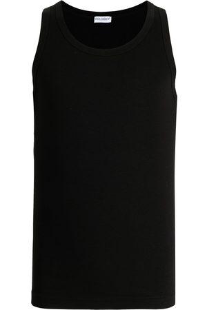 Dolce & Gabbana Logo-tag tank top