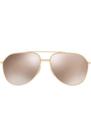 Dolce & Gabbana Aviator-frame tinted sunglasses