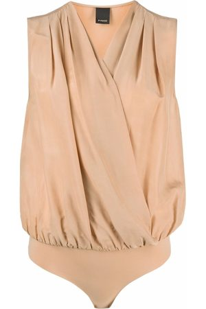 Pinko V-neck wrap bodysuit