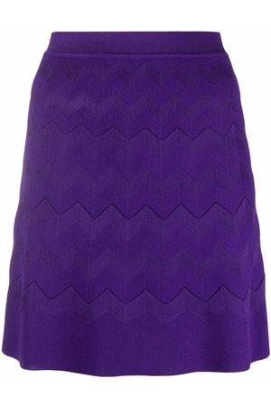 Missoni Zigzag-knit mini skirt