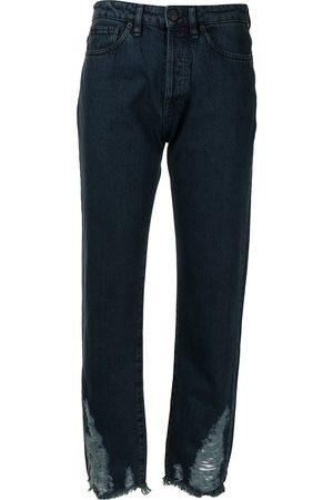 3x1 Menina Retos - Higher Ground Destroyed-Hem Boyfriend jeans