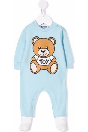Moschino Teddy Bear long-sleeve pajamas