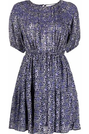 Bash Mulher Vestidos Casual - Iris abstract-print mini dress