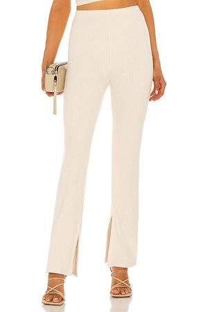 NBD Debby Pant in - Cream. Size L (also in XXS, XS, S, M, XL).