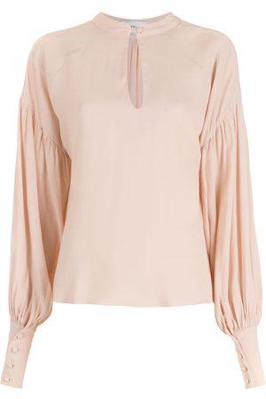Olympiah Senhora Blusas - Long puff-sleeve blouse