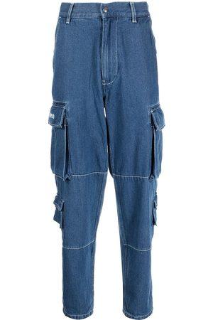 A BATHING APE® Denim cargo-pocket jeans
