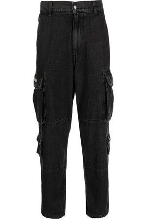 A Bathing Ape Homem Retos - Cargo-pocket denim jeans