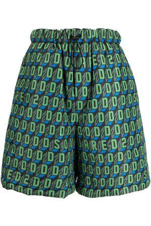 Dsquared2 Homem Calções - D2-pattern deck shorts