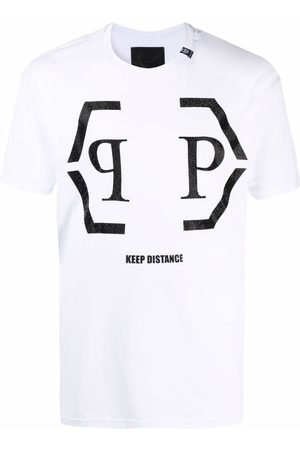 Philipp Plein Hexagon logo cotton T-shirt