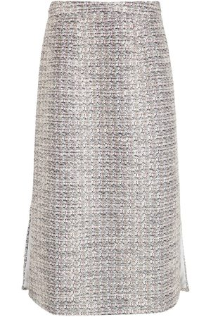 Olympiah Senhora Saias Midi - Midi tweed skirt