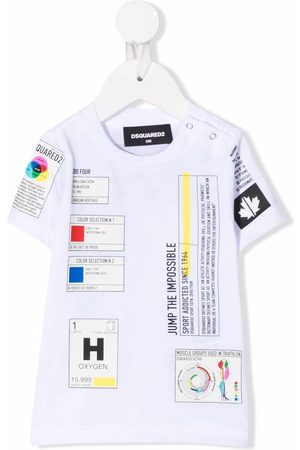 Dsquared2 Patch-detail short-sleeved T-shirt