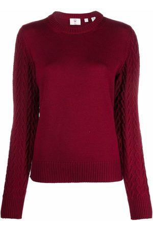 Rossignol Senhora Camisolas - Logo-patch U-neck sweater