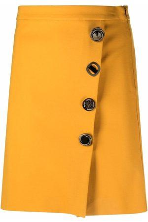 Pinko Off-centre button-up pencil skirt