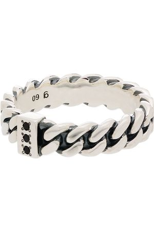 TOM WOOD Sterling chain ring