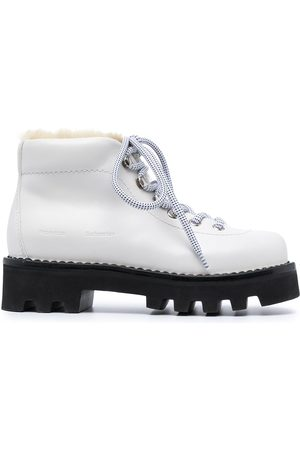 Proenza Schouler Senhora Calçado Outdoor - Shearling hiking boots