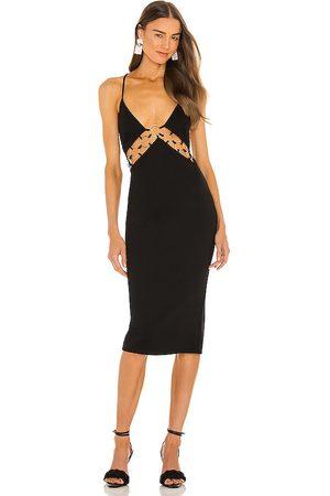Michael Costello X REVOLVE Robin Midi Dress in - . Size L (also in XXS, XS, S, M, XL).