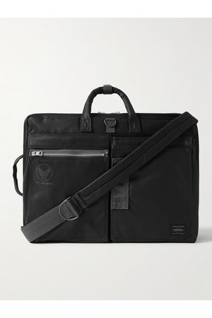 Porter-Yoshida and Co Homem Mochilas - Flying Ace 3Way Webbing-Trimmed Nylon Briefcase