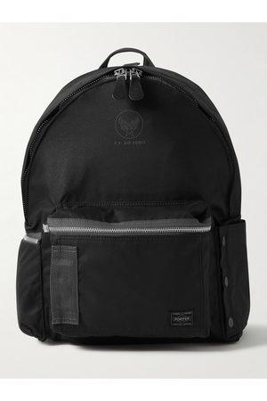 Porter-Yoshida and Co Homem Mochilas - Flying Ace Webbing-Trimmed Nylon Backpack