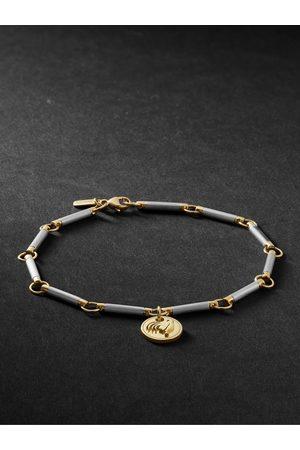 Foundrae 18-Karat White and Yellow Gold Bracelet
