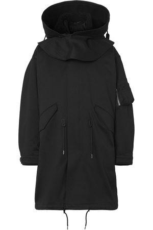 Burberry Homem Parkas - Logo-print parka coat