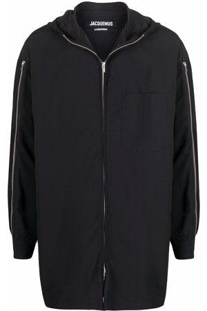 Jacquemus Homem Parkas - Zip-sleeve coat