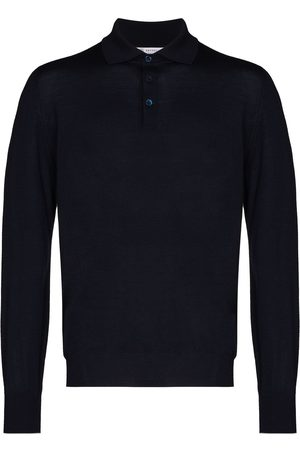 Brunello Cucinelli Knitted long-sleeve polo shirt