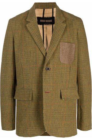 UMA WANG Single-breasted wool blazer