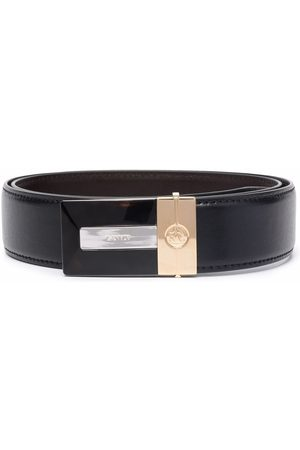 Lanvin Homem Cintos - Logo-buckle belt