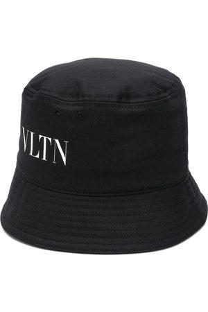 VALENTINO Homem Chapéus - Logo-print bucket hat