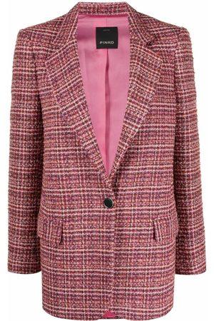 Pinko Tweed single-breasted blazer