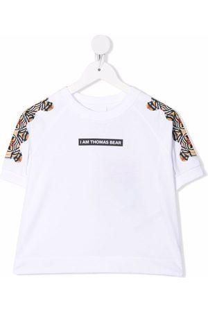 Burberry Menina T-shirts & Manga Curta - Montage-print T-shirt