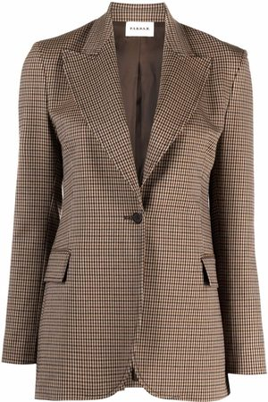 P.a.r.o.s.h. Senhora Blazers - Fitted single-breasted blazer