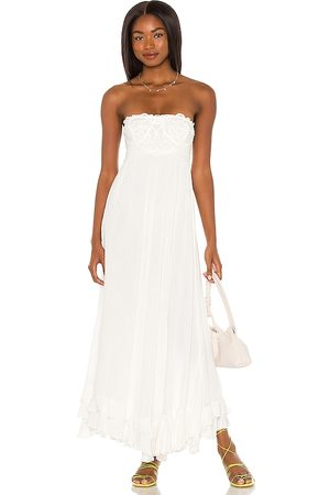 Free People Adella Corset Maxi Dress in - . Size L (also in M, S, XL, XS).