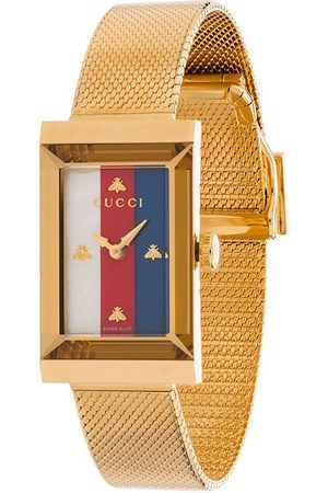 Gucci Senhora Relógios - Rectangle stripe face watch