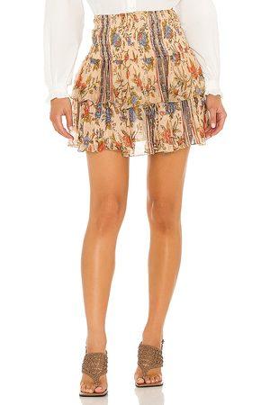 Mes Demoiselles Milli Skirt in - Beige. Size 34/2 (also in 36/4, 38/6, 40/8).