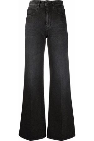 Ami High-waisted bootcut jeans