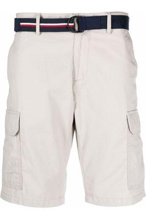 Tommy Hilfiger Homem Calções - Belted chino shorts