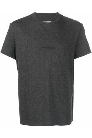 Maison Margiela Homem T-shirts & Manga Curta - Embroidered-logo T-shirt