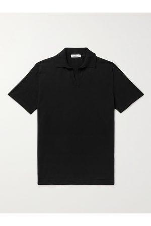 Saman Amel Homem Manga curta - Mercerised Cotton Polo Shirt