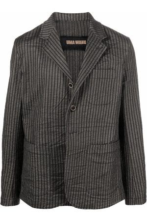 UMA WANG Homem Blazers - Pinstripe print blazer