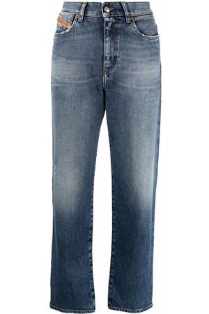 Diesel Senhora Boyfriend - Air faded boyfriend jeans